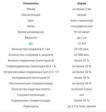 Изображение №3: Спермограмма - ЭКО-блог