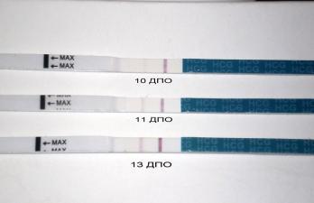 Изображение №0: Отрицательный тест при беременности - ЭКО-блог