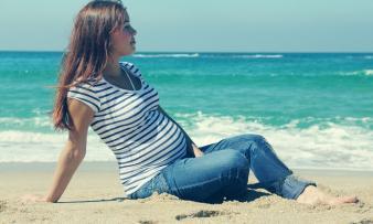 Изображение №2: Беременность и отдых на море - ЭКО-блог