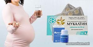 Изображение №1: Мукалтин при беременности - ЭКО-блог