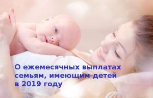 Изображение №1: Пособие при рождении ребенка в 2019 году - ЭКО-блог