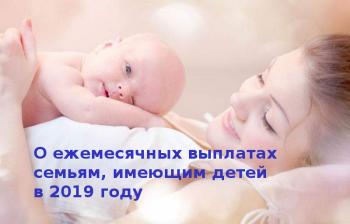 Изображение №0: Пособие при рождении ребенка в 2019 году - ЭКО-блог