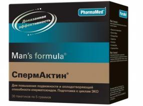 Спермактин - ЭКО-блог
